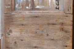memorie 1 anta 1 porta acrilici su legno cm 147X68 2016