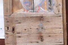memorie 2 anta 2 porta acrilico su legno 2016 cm 147X68