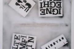 alfabeto stretto,tinte vernici alla nitro pop- art,su tela cm 235X130anno 2015 (3)