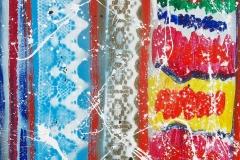 tratti cromatici cm.50X70 anno 1999
